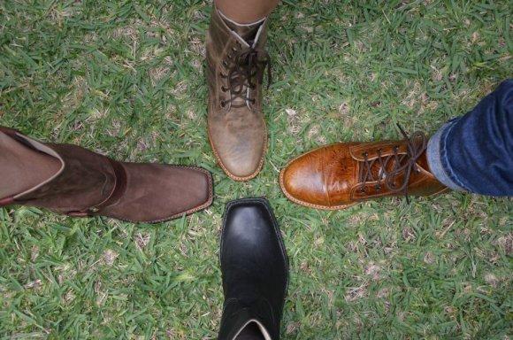 Handmade boots!