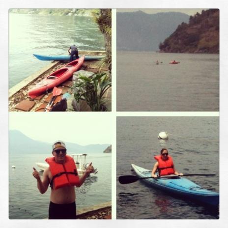Morning kayaking.